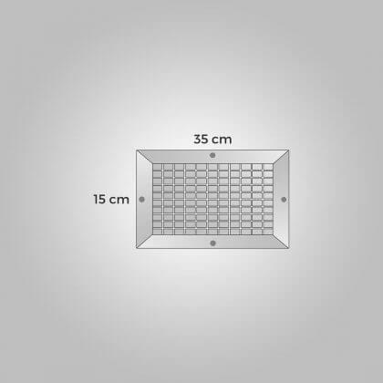 Menfez 15x35cm Polietilen a